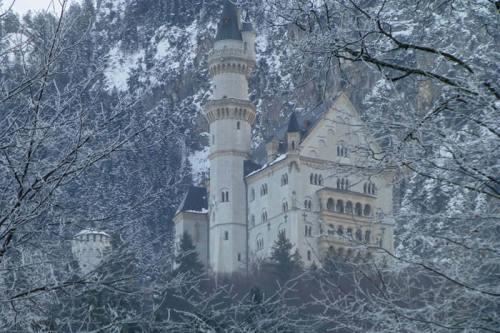 Castillo de Neuschwanstein, construido por encargo del Rey Loco
