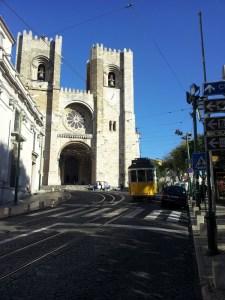 Fachada Catedral de Lisboa