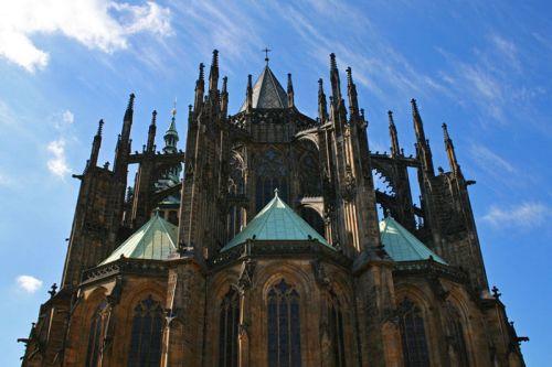 Ábside gótico de la Catedral de San Vito