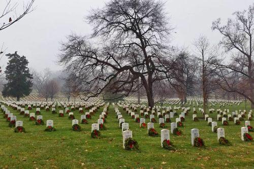 Cementerio Nacional de Arlington, en los alrededores de Washington D. C.
