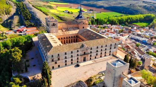 Monasterio de Uclés, una de las principales atracciones turísticas de Cuenca