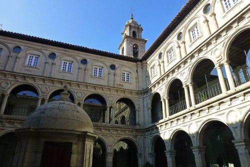 Claustro del Monasterio de San Vicente del Pino, actual Parador de Turismo de Monforte de Lemos