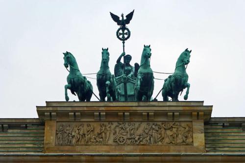 Cuadriga de la Puerta de Brandeburgo en Berlín
