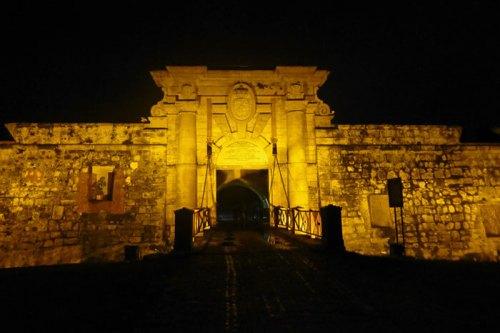 Entrada a la Fortaleza de San Carlos de la Cabaña