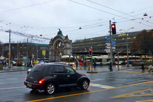 Estación de trenes de Lucerna