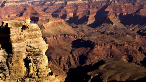 Formaciones rocosas del Gran Cañón del Colorado