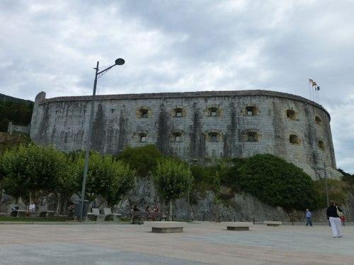 Fuerte de San Martín, el mejor conservado de los fuertes de Santoña