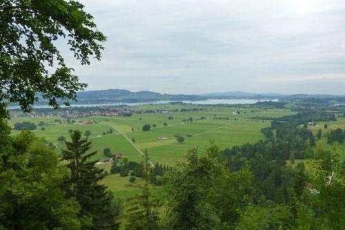 Vistas de Füssen desde el Castillo de Neuschwastein