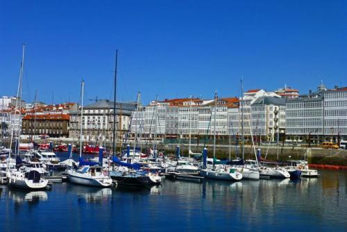 Galerías de La Coruña, conocida como la Ciudad de Cristal