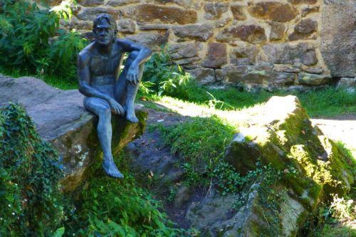 Escultura del Hombre-Pez de Liérganes