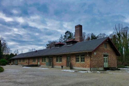 Edificio del crematorio del Campo de Concentración de Dachau