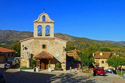 Iglesia de San Miguel Arcángel en La Hiruela