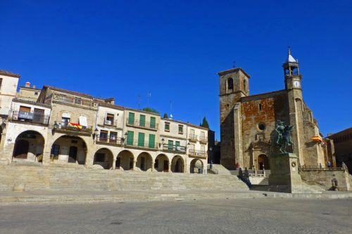 Plaza Mayor de Trujillo, conocida por los romanos como Turgalium