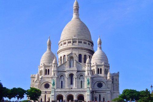 Basílica del Sagrado Corazón, una de las iglesias más famosas de París