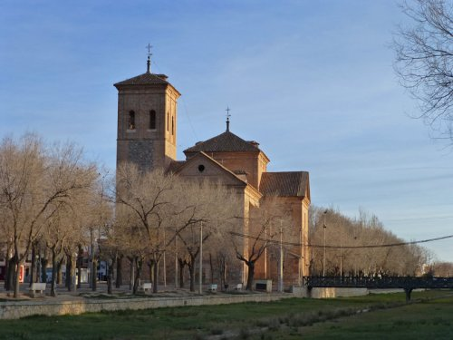 Iglesia de San Juan Bautista en Consuegra