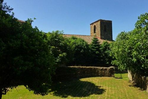 Iglesia de Santa María de Fuentes Claras en Valverde de la Vera