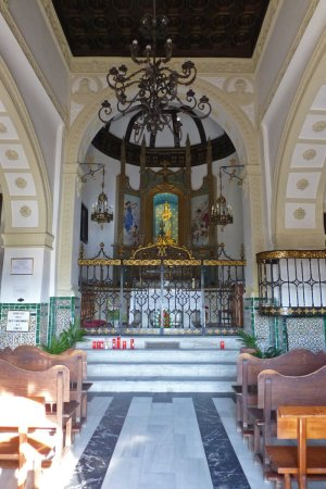 Interior de la Ermita del Valle, iglesias de toledo
