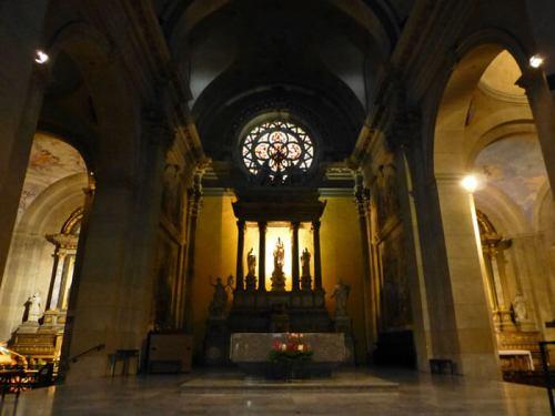 Altar Mayor de la Iglesia de Notre Dame de Liesse en Annecy