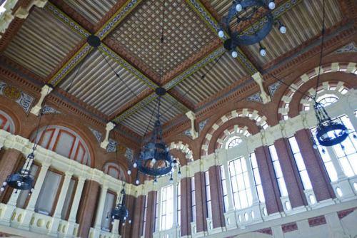 Interior de la Estación de Trenes de Aranjuez