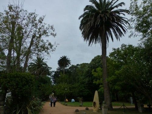 Jardines del Palacio de Albaicín en Noja