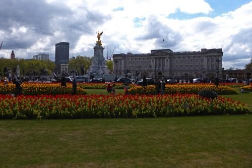 Jardines junto al Palacio de Buckingham