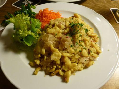Ñoquis (Szagówki), uno de los platos tradicionales de la gastronomía de Poznan