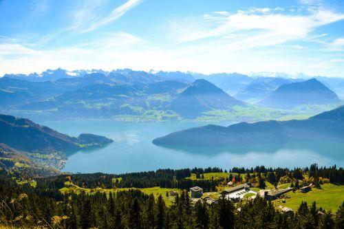 Lago de los Cuatro Cantones o Lago de Lucerna