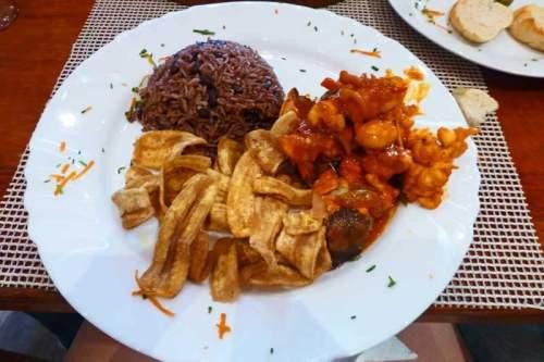 Langosta enchilada, una de las sugerencias del chef de La Catedral