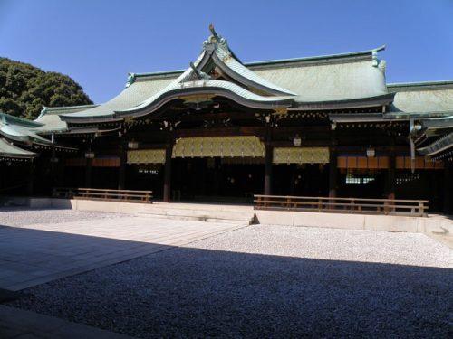 Templo Meiji Jingu, uno de los más visitados de Tokio
