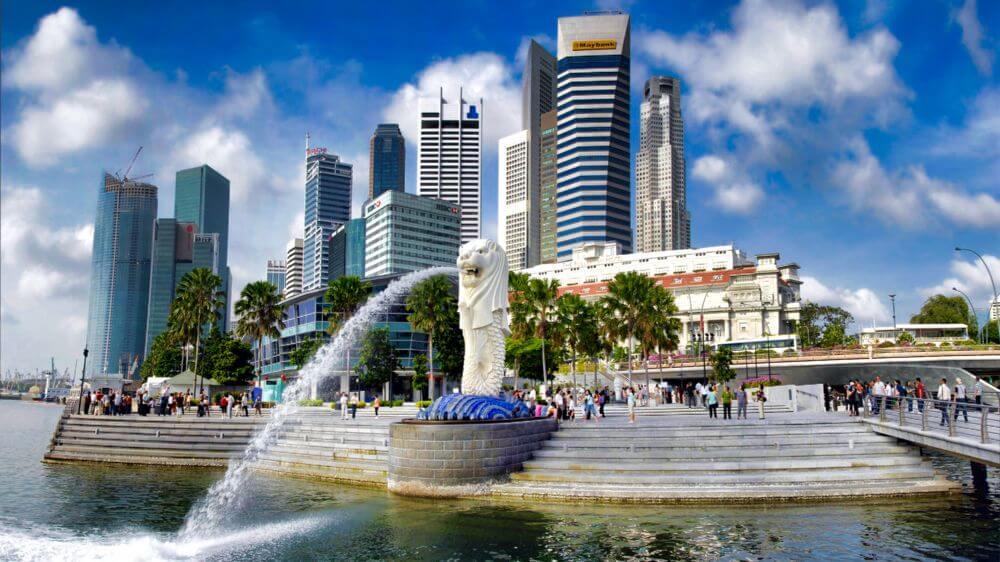 Parque Merlion, uno de los lugares más visitados de Singapur