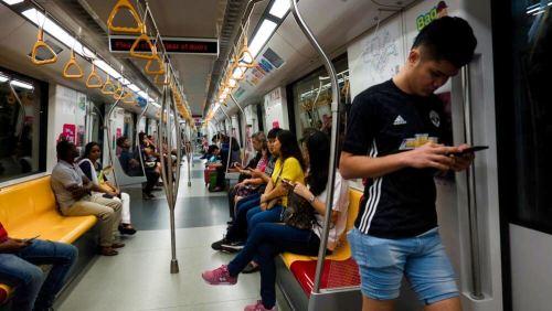 Metro (MRT), el mejor medio de transporte para moverse por Singapur