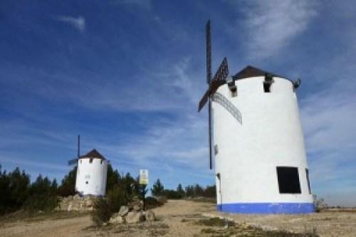 Molinos de viento en Miguel Esteban
