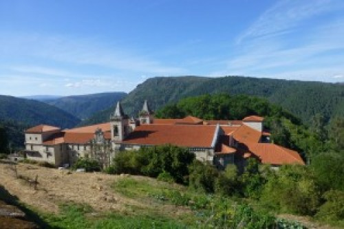 Monasterio de Santo Estevo de Ribas de Sil en la Ribeira Sacra