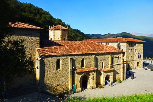 Monasterio de Santo Toribio de Liébana, ubicado en las cercanías de Potes