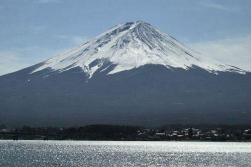 Monte Fuji, el pico más alto y el símbolo de Japón