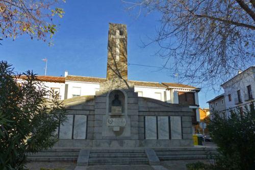 Monumento a los caídos en Ocaña durante la Guerra Civil Española