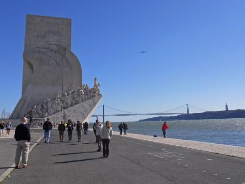Monumento a los Descubrimientos en Lisboa