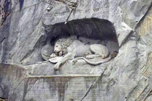 Monumento del León de Lucerna