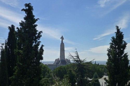 Monumento al Sagrado Corazón en el Cerro de los Ángeles de Getafe