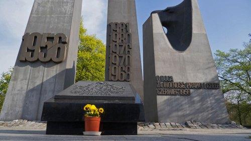 Monumento al Junio de Poznan, en conmemoración del Levantamiento de 1956