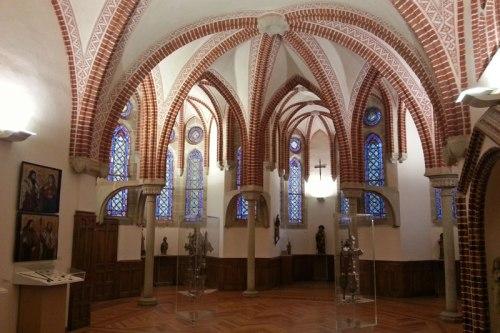Museo de los Caminos en el Palacio Episcopal de Astorga