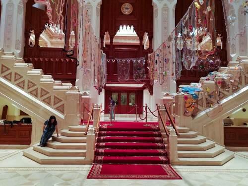 Interior Ópera Real de Mascate