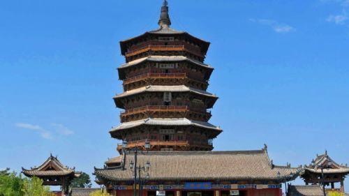 Pagoda de Yingxian cerca de Datong