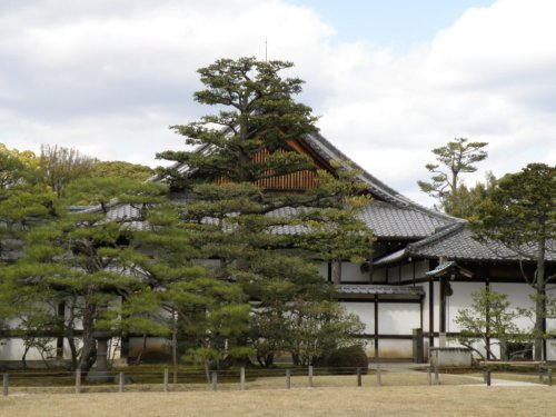 Edificio del Palacio Imperial de Kioto