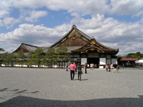 Castillo de Nijo, uno de los edificios civiles más importantes de Kioto