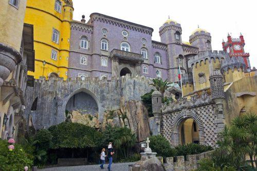 Palacio Nacional da Pena en Sintra, una de joya del romanticismo portugués
