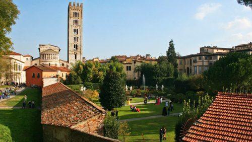Palacio Pfanner, uno de los edificios civiles más importantes de Lucca