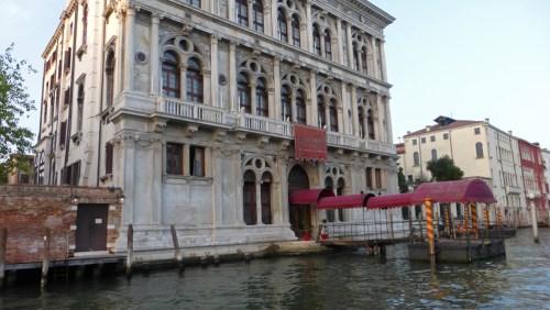 Palacio Vendramin Calergi a orillas del Gran Canal