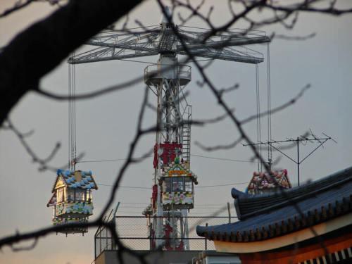Parque de Atracciones Hanayashiki en Asakusa