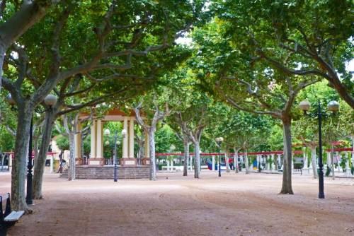 Parque Miguel Servet, el más grande y antiguo de Huesca
